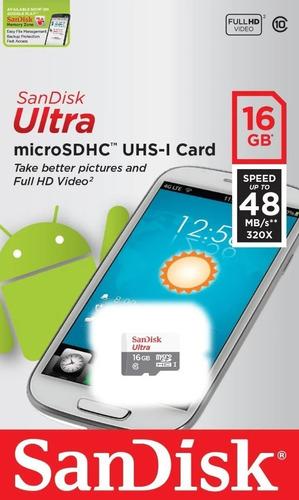 Imagem 1 de 1 de Kit 15 Cartão Memoria Micro Sd 16gb Classe10 Ultra 100% Orig