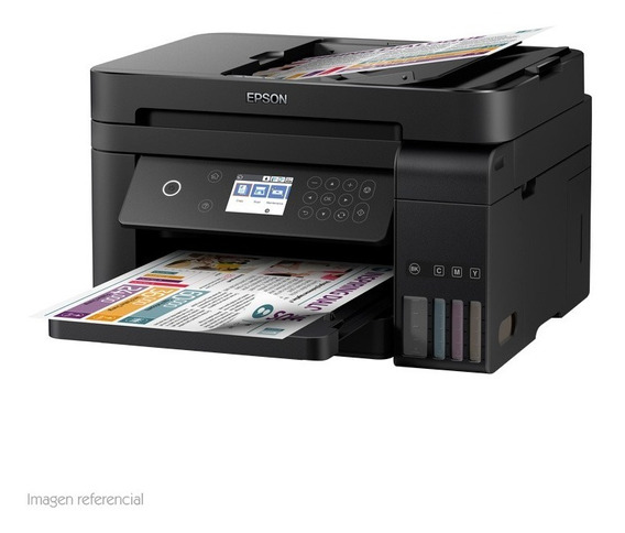 Multifuncional De Tinta Epson Ecotank L6171 Imprime Escanea