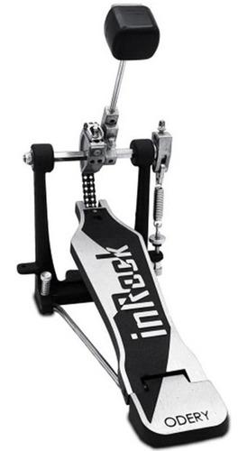 Imagem 1 de 5 de Pedal De Bumbo Odery In Rock P704 Ir Pedal Simples Bateria