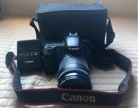 Câmera Canon Eos 60d Completa Com Lente 18-200mm