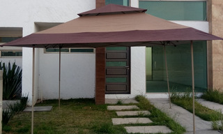 Ez Up Toldo Gazebo Retractil Tipo Pagoda