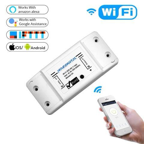 Novadigital Smart Interruptor Wifi Automação Alexa/google 01