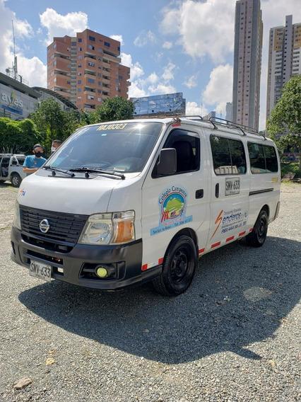 Nissan Urvan 2011 Mecan Blanco 3.0 Cc 406.00 Kilómetros