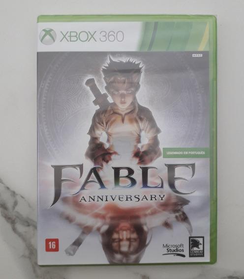 Jogo Fable Anniversary Xbox 360 Cd Legendado Português Novo