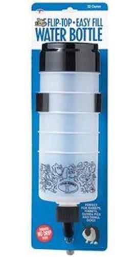 Imagen 1 de 1 de Botella De Agua Con Tapa Abatible - 32 Oz.
