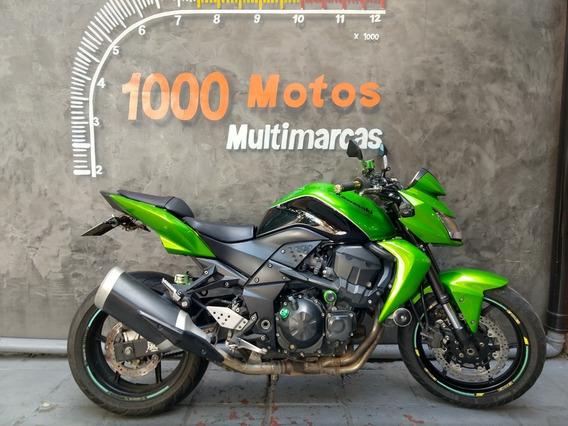 Kawasaki Z 750 2012 Otimo Estado Aceito Moto