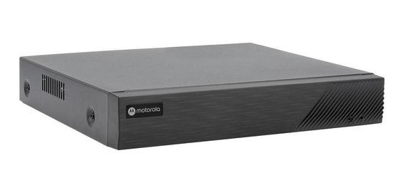 Gravador Digital Nvr Motorola Mtr08ip 8 Canais Preto