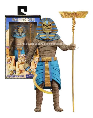Iron Maiden Eddie Faraon Neca Figura De Lujo Original