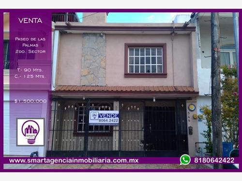 Imagen 1 de 9 de Casa Sola En Venta Paseo Palmas Ii