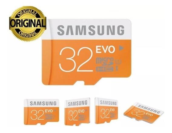 Samsung Micro Sdhc 32gb Classe 10 Evo 95mb/s Sd 100%original