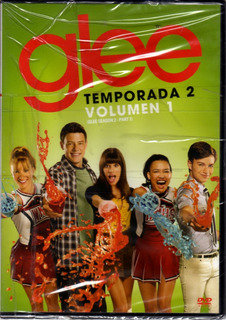 Glee Temp.2 Vol.1 - Pack De 3 Dvds Originales Nuevo Sellado