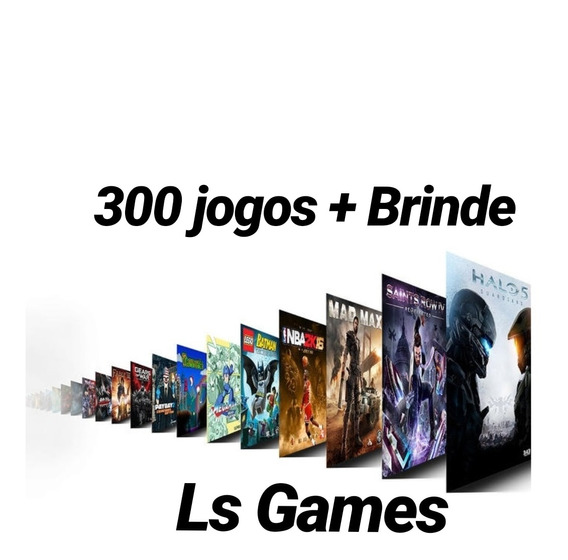 Pacote 300 Jogos Midia Digital Xbox One + Gta V