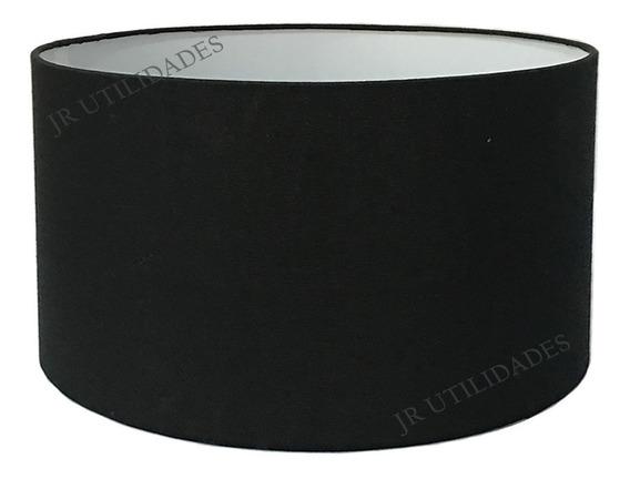 Cúpula Abajur Luminária 35 Cm Cilindrica