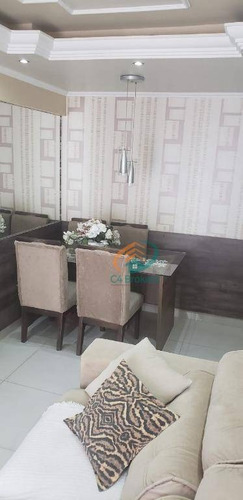 Apartamento Com 2 Dormitórios À Venda, 48 M² Por R$ 290.000,00 - Ponte Grande - Guarulhos/sp - Ap3944