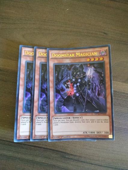 3x Mago Da Destrela / Doomstar Magician Mp15 - Yugioh Ultra