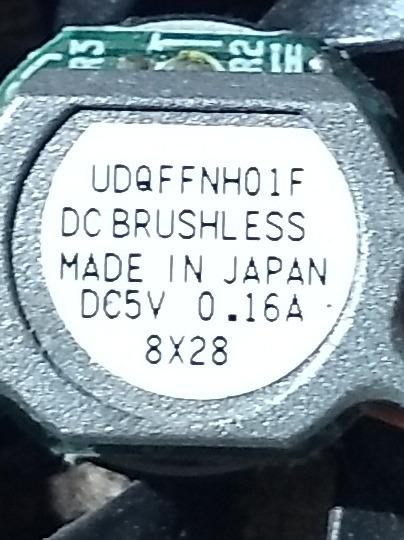 Cooler Ibm Thinkpad Series Type 2611 Modeel Udqffnh01f