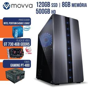 Computador Gamer Pentium Dual Core 3.5ghz 7°ge Mem 8gb 50