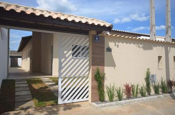 Casa Térrea Itanhaém, Com Piscina De Frente Para O Mar