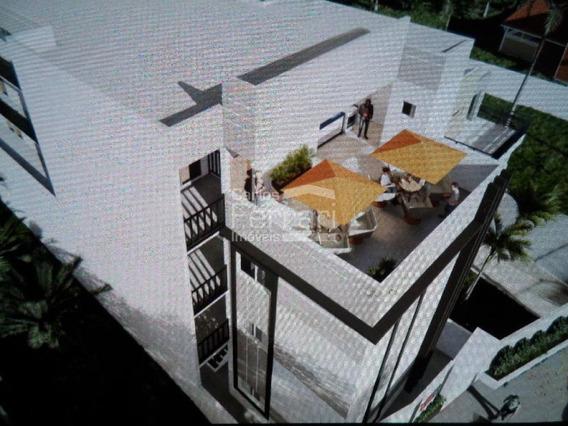 Apartamento Com Garden Em Construção Próximo Ao Futuro Shopping Trimais - Cf25478