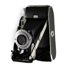 Antiga Câmera Analógica De Fole Kodak Tourist Il