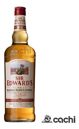 Whisky Sir Edward's 1 Litro Oferta