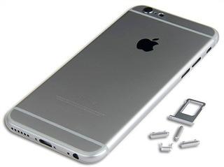 Carcaça + Botões + Bandeja Chip Apple iPhone 6 6g 4.7 Cinza