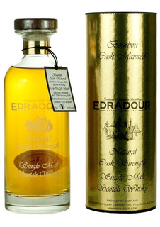Whisky Edradour 10 Años Natural Cask Strength 58,7% Abv.