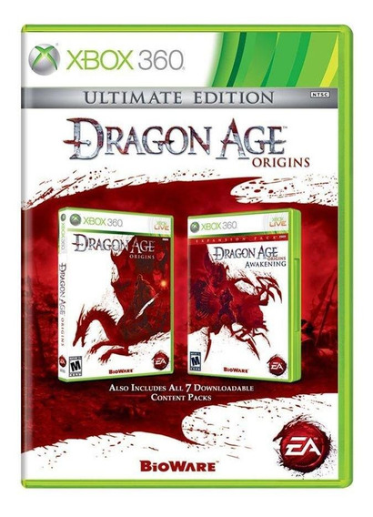 Dragon Age Origins Ultimate Edition Xbox 360 Mídia Física