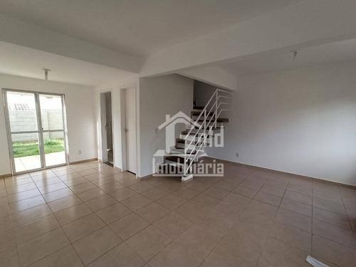 Casa Com 3 Dormitórios À Venda, 170 M² Por R$ 385.000,00 - Condomínio Guaporé - Ribeirão Preto/sp - Ca1204
