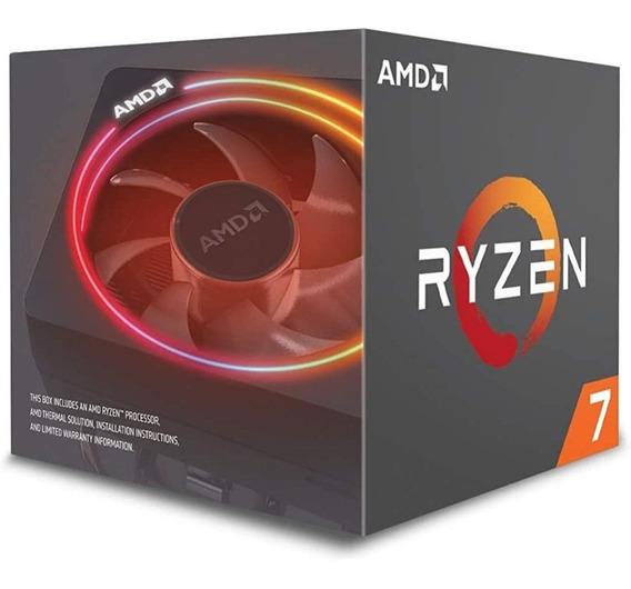 Procesador Amd Ryzen 7 2700x Con Ventilador Led De Prisma...