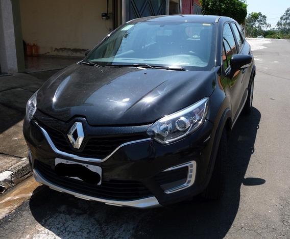 Captur Renault Zen Tela Multimídia Flex 1.6 2018 Piracicaba