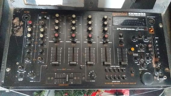 Mixer Gemini Ps 924 Com Sampler
