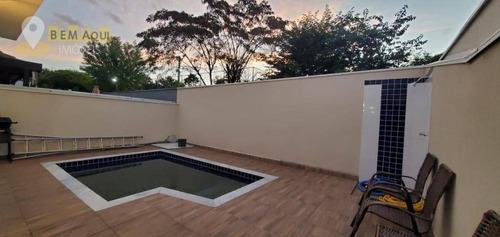 Imagem 1 de 28 de Casa Residencial À Venda, Condomínio Aldeia De España, Itu. - Ca0103