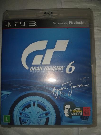 Gran Turismo 6 Ps3 Mídia Física Original