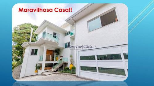 Imagem 1 de 29 de Casa Maravilhosa !! 04 Dormitórios - 04 Suítes - So0123