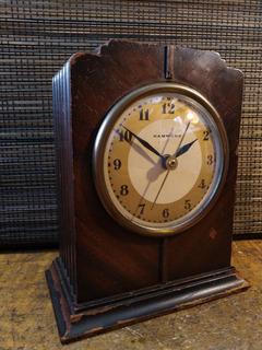 Reloj De Mesa Chimenea Estilo Art Decó De Los Años 30