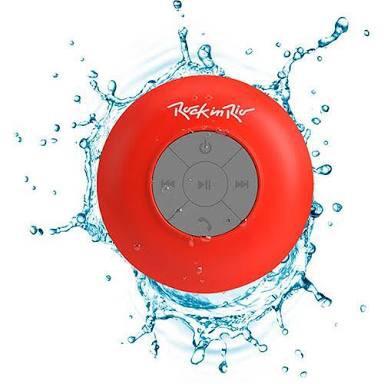 Caixa De Som Bluetooth Rock In Rio Aquarius