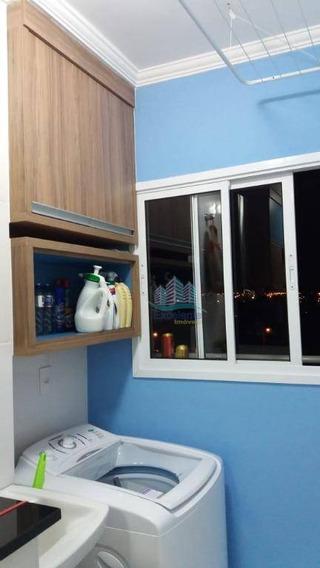 Apartamento À Venda, 57 M² Por R$ 280.000 - Parque Gabriel - Hortolândia/sp - Ap0262