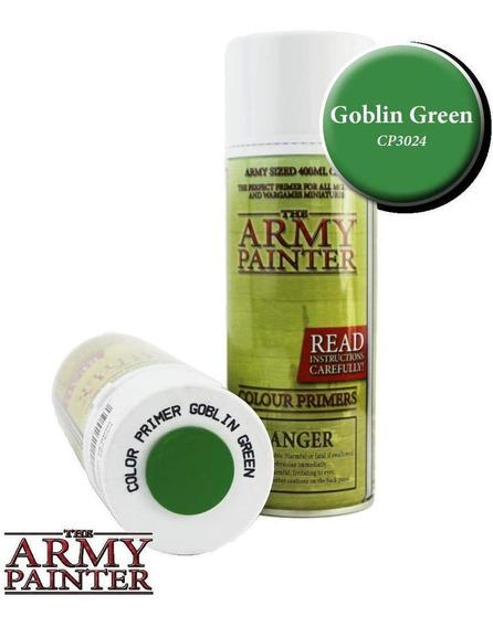 Army Painter Aerosol Primer Goblin Green