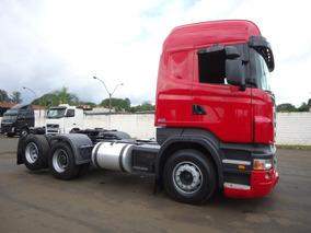 Caminhão Scania R 420 6x2 Highline Ano 2008/08