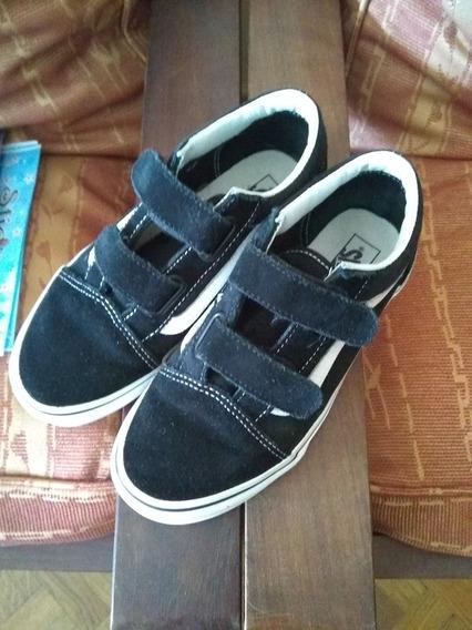 Zapatillas Vans Originales K Old Skool V Vn000vhe6bt