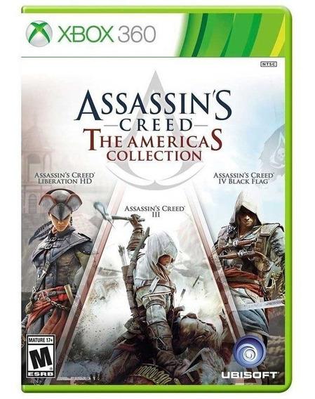 Assassins Creed The Americas Collection - Xbox 360 - Novo