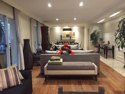 Apartamento Com 4 Dormitórios À Venda, 250 M² Por R$ 3.500.000,00 - Moema - São Paulo/sp - Ap39534