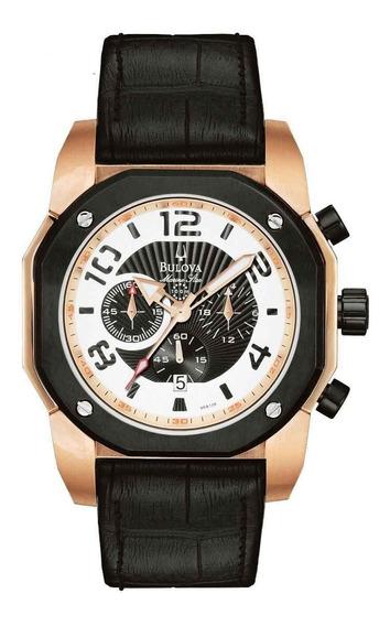 Relógio Bulova Masculino Cronógrafo Wb31050p Marine Star
