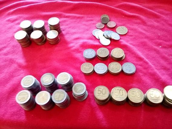 Coleccion Monedas 69d2 100d1 56d50 37d25 7d5 Y De San Martin