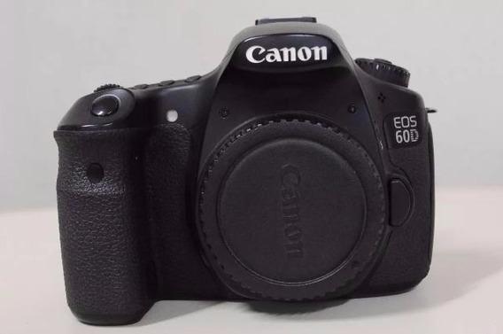 Camera Canon Eos 60d (corpo) - R$1.599,00
