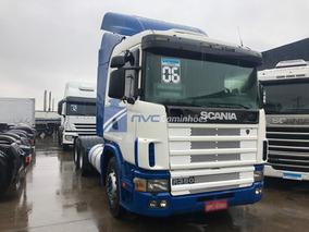 Scania R124 380 R380 R 380 6x2 Trucado 2006 C/ Sinistro