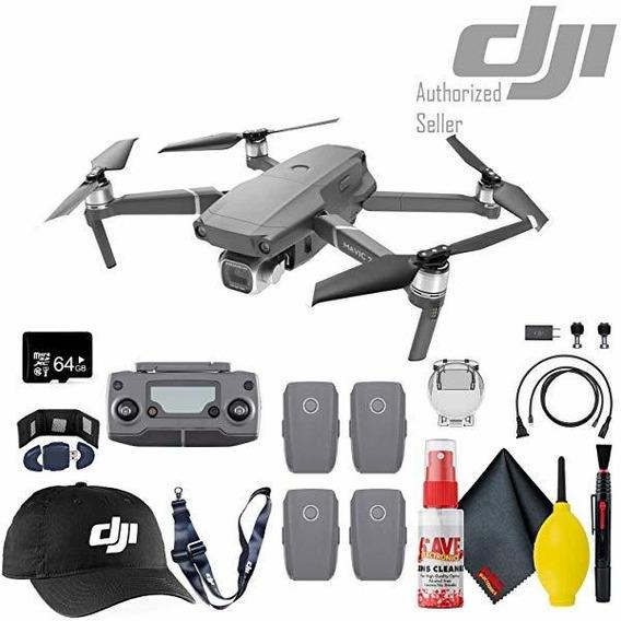 Camara Dji Mavic 2 Pro Drone Flight Batteries 4 Total 64gb ®