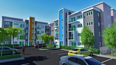 Apartamento Con Patio En Planos Con Piscina, Gurabo Wpa113 A