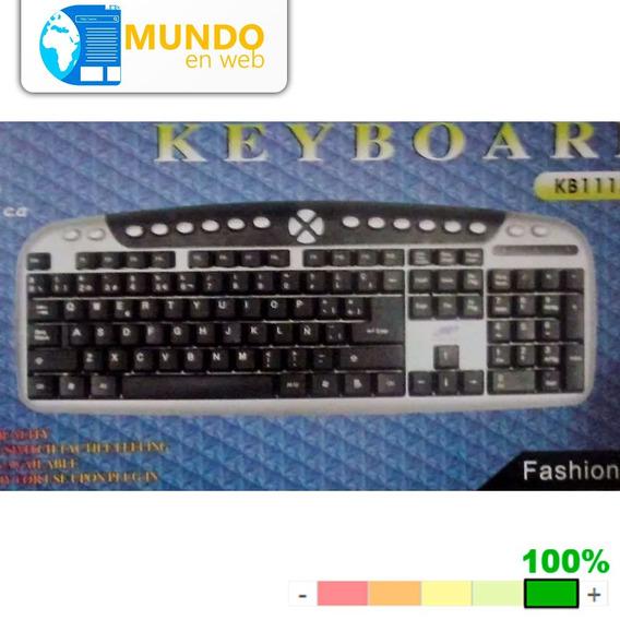 Teclado Usb Multimedia Mod. 11128